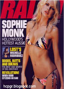 Sophie Monk magazine covergirl