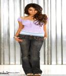 Vanessa Hudgens posing for camera