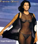 Yasmeen Ghauri body stocking