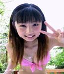 Yuko Ogura Peace sign