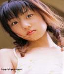 Yuko Ogura braided pigtails