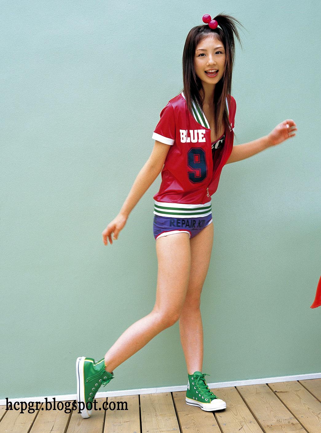 Yuko Ogura modeling