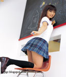 Yuko Ogura school girl
