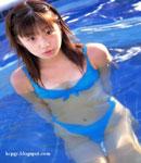 Yuko Ogura bikini