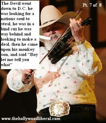 Charlie Daniels plays at the NRA meeting in Houston on 041605