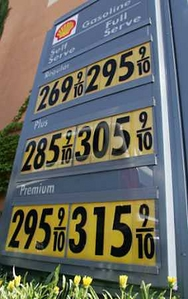 California gas prices on 042405