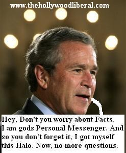 President Bush is a holy man 042405