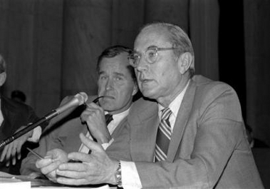 1975 pic. of Bush Sr. and Colby of CIA