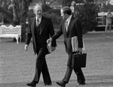 Dick Cheney & Gerald Ford 1975