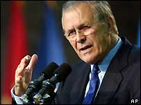Rumsfeld addressed the troops and got blasted December 8, 2004