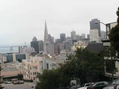 The Transamerica Building, and the SF Skyline
