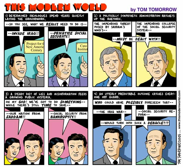 This Modern World by Tom Tomorrow. His Latest 010405