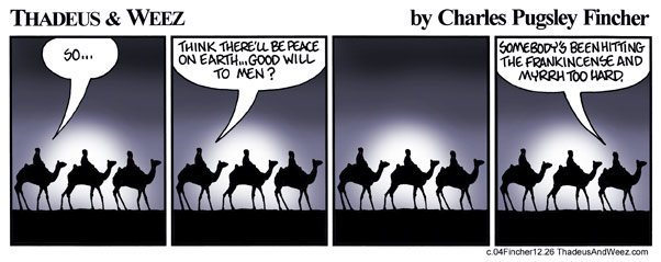 Where are the wise men today?