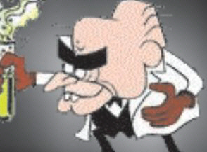 The new pope is Simon Bar Sinister, Nazi, evil genius, and looks like him too