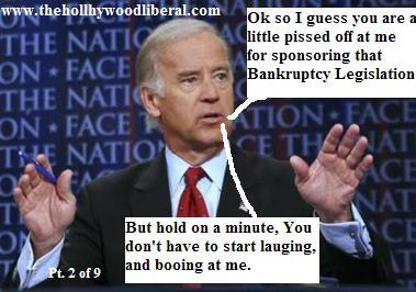 Joe Biden, Senator from Delaware, announces that he is interested in seeking The Democratic Nomination for president 062005