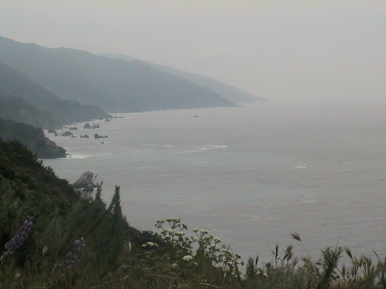 Big Sur, about 20 miles south of Monterrey on US1