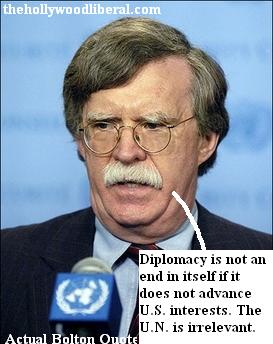 John Bolton want the U.N. do to something about N. Korea