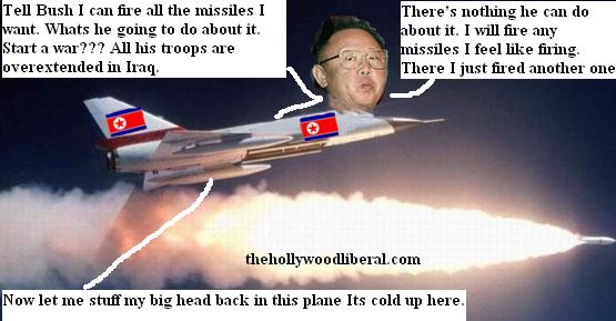 Kim Jong Il of N. Koreahas a message for Bush