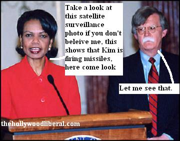 John Bolton, and Condeleeza Rice