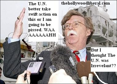 John Bolton frustrated at the u.n.