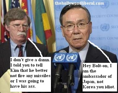 John Bolton and The U.N. ambassador to Japan
