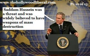 Bush thinks people still believe him