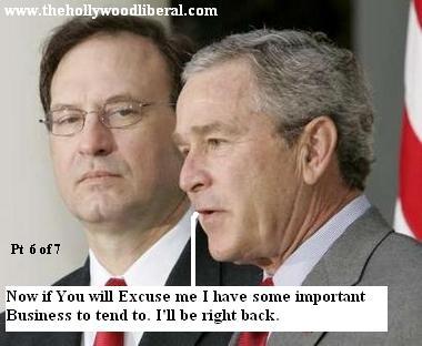 Bush and Samuel Alito /