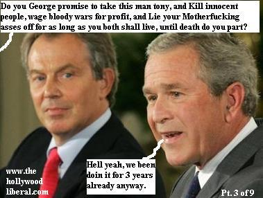 Bush and Blair have been murdering for 3 years, now they are making it legal 060905