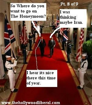 Bush and Blair planning an excursion in Iran