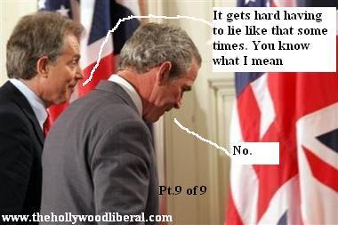 Tony Blair doesn't always like lying for the mass murdering monkey bush 060905
