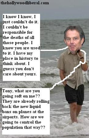 Tony Blair working vacation