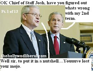 Bush Lost his mojo Bolten must find it