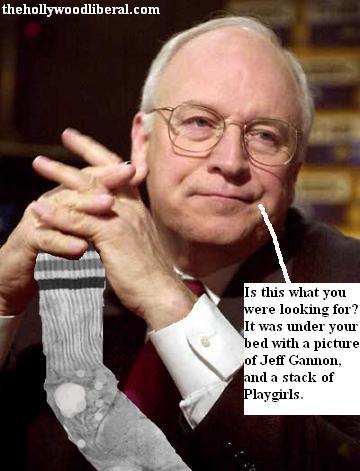 Cheney found Bush's mojo