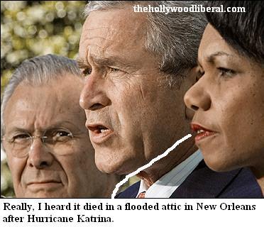 Bush, Rice, and Rusfeld