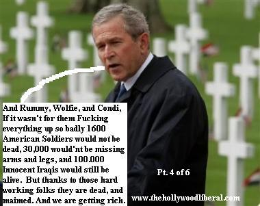President Bush makes speech, at war cemetary in The Netherlands 050605