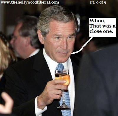 bush gives a press confrence in china