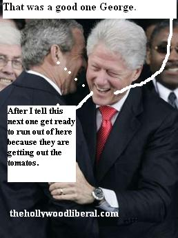 Bush Clinton Comedy