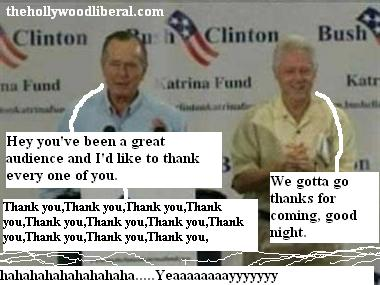 Bush Clinton Clinton Bush