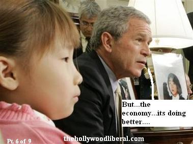 Bush talks with Economic expert