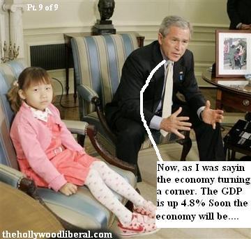 Its the economy george