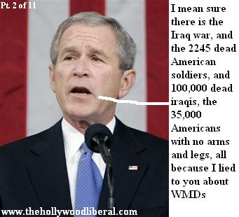 Bush wants us  to have confidence in Iraq