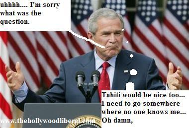 President Bush does not want to discuss iraq