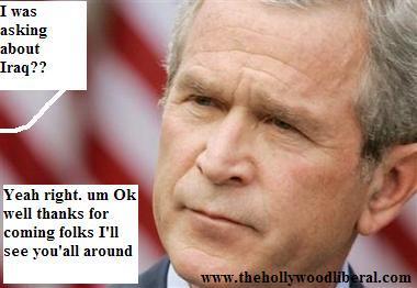 President Bush loves same sex marriage