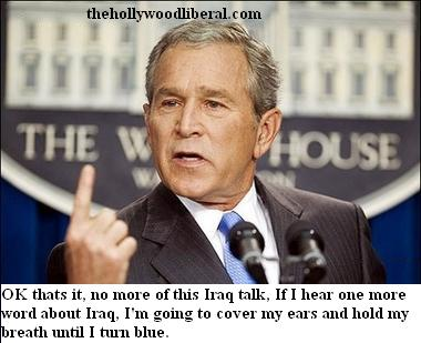 Bush refuses to admit Iraq had nothing to do with September 11