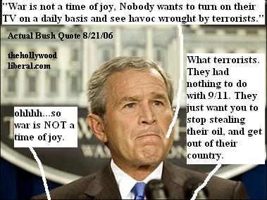 Bush is the master of disaster