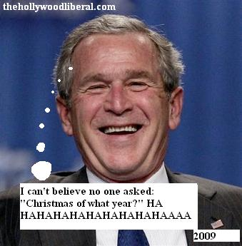 Bush has a laugh on the american people