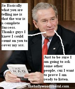 Bush meets with the ISG