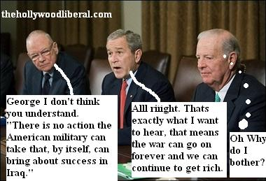 Bush loves the war