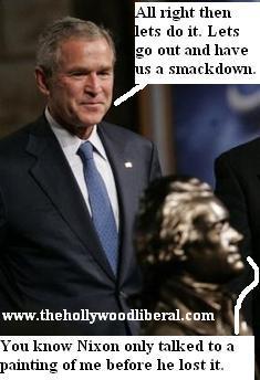 Bush is going crazy