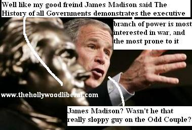 the American Legislative Exchange Council gave Bush the Jefferson freedom award, Put that in your blog